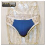 Mens Brief - Rude Dude (Blue)
